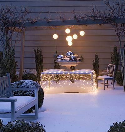 Creative Outdoor Christmas Lights Outdoor lighting, Decoration and