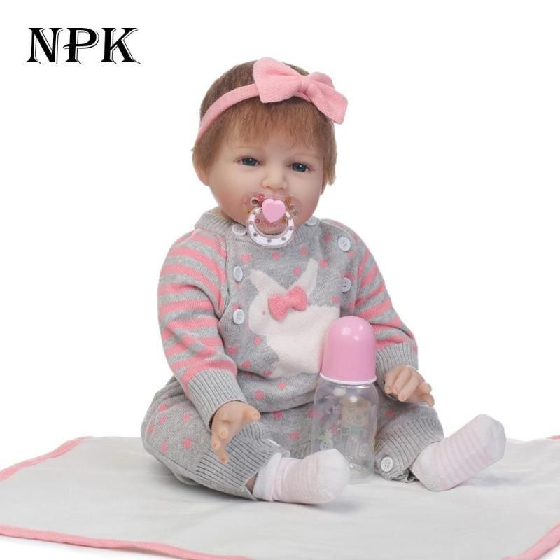 c1f6966fc42 22   Reborn Babies Silicone Doll Alive Reborn Boneca Handmade Lifelike Full  Body Vinyl Baby Toy Doll For Girl Birthday Gift-in Dolls from Toys    Hobbies on ...