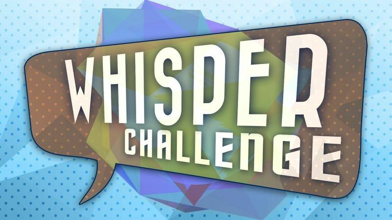 Whisper Challenge: Family Reunion Activity/Game Ideas ...  |Whisper Challenge Ideas