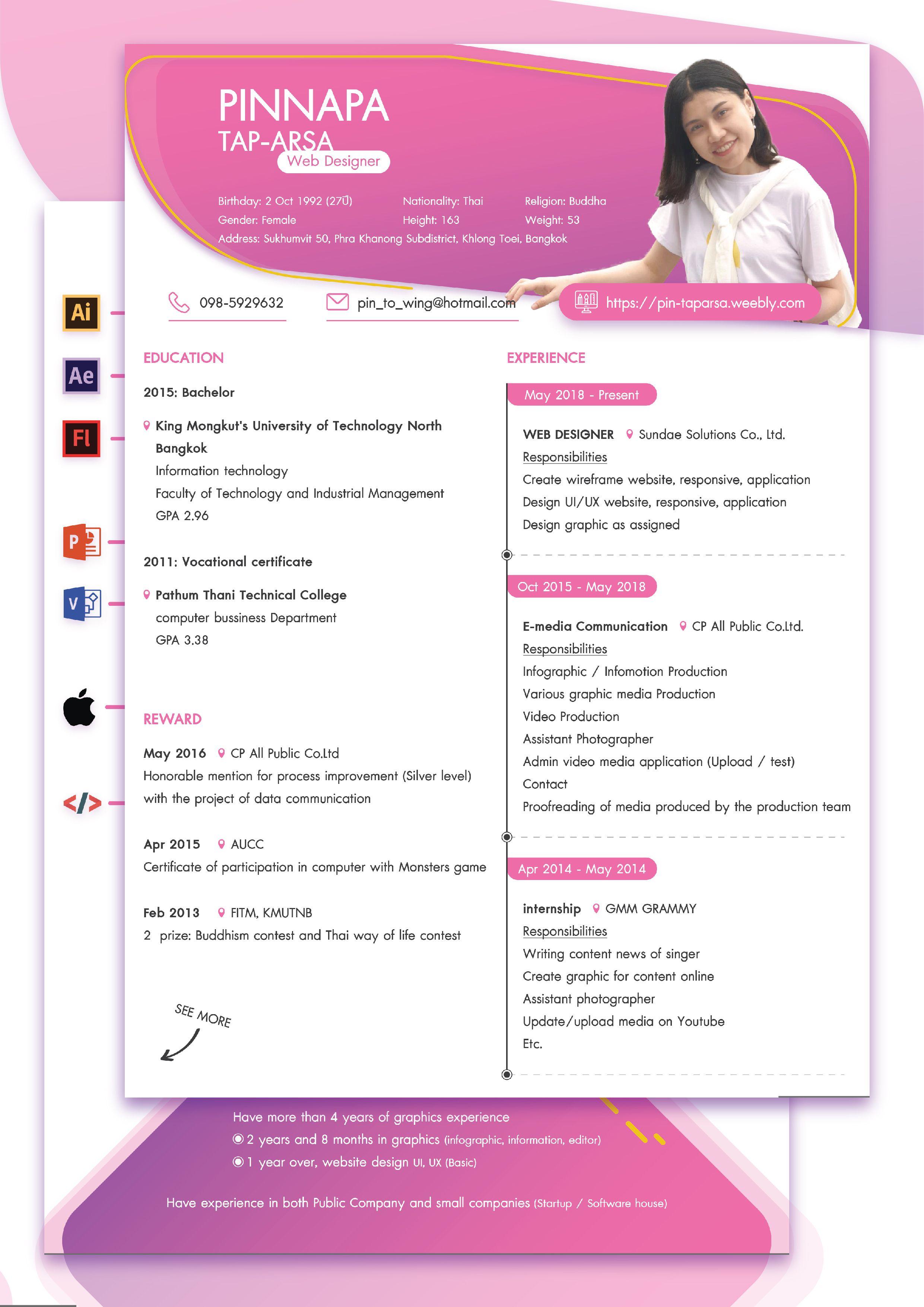 Resume Cv Design
