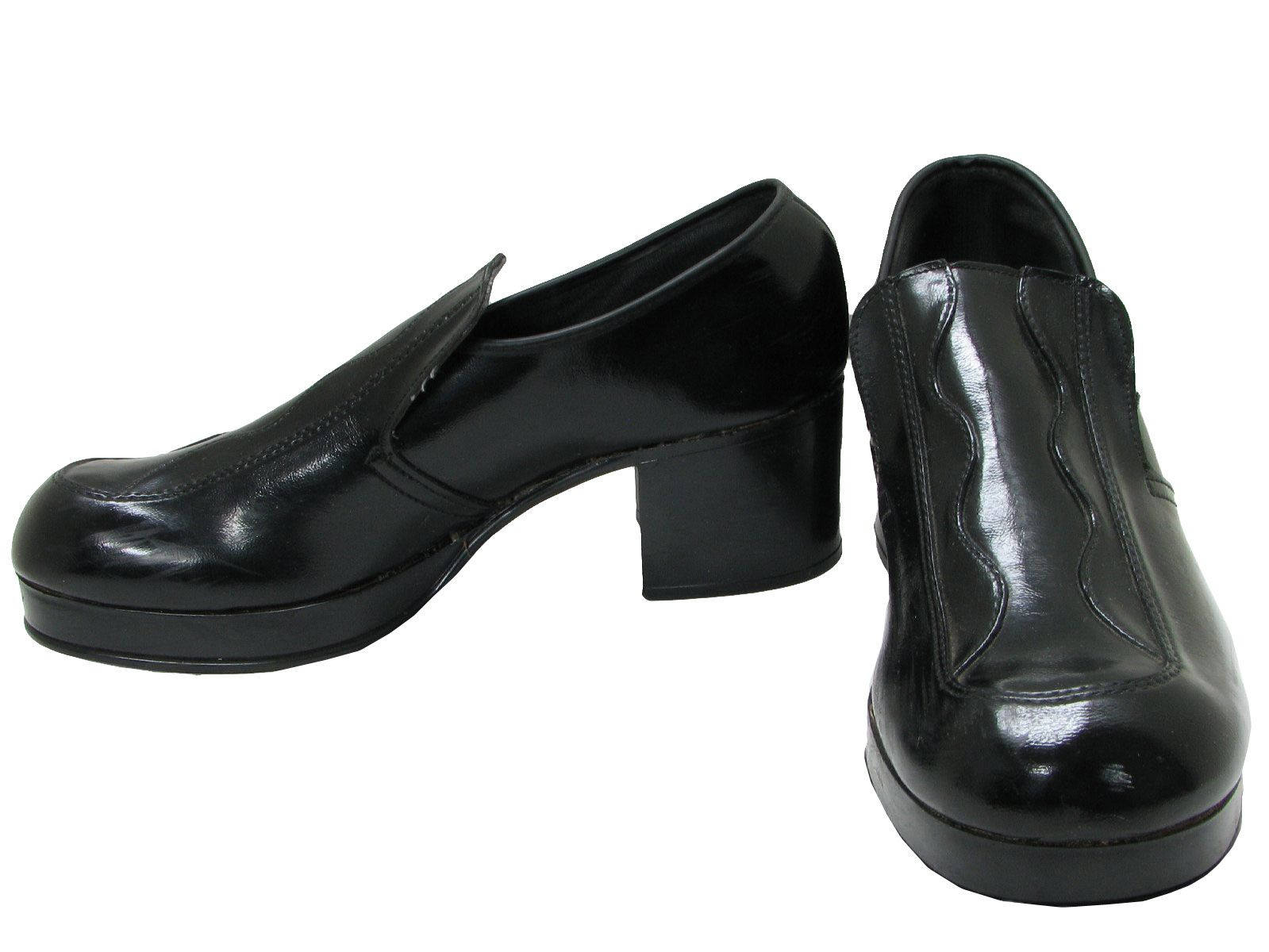 6fabb2138a2 1970 s Knox Mens Platform Disco Shoes in 2019
