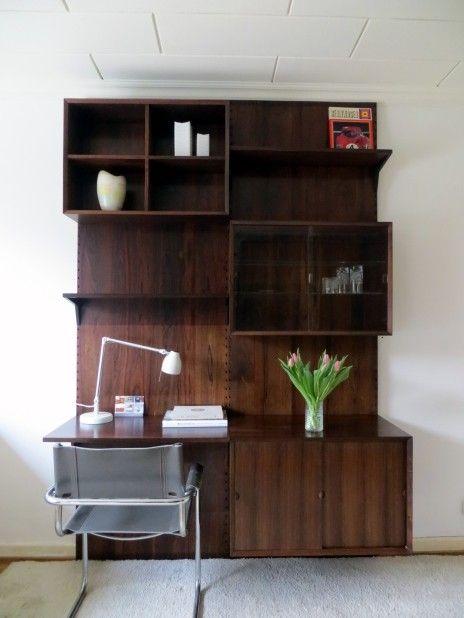original cado cadovius design 60er rosewood palisander regal system 60s danish shelves string. Black Bedroom Furniture Sets. Home Design Ideas