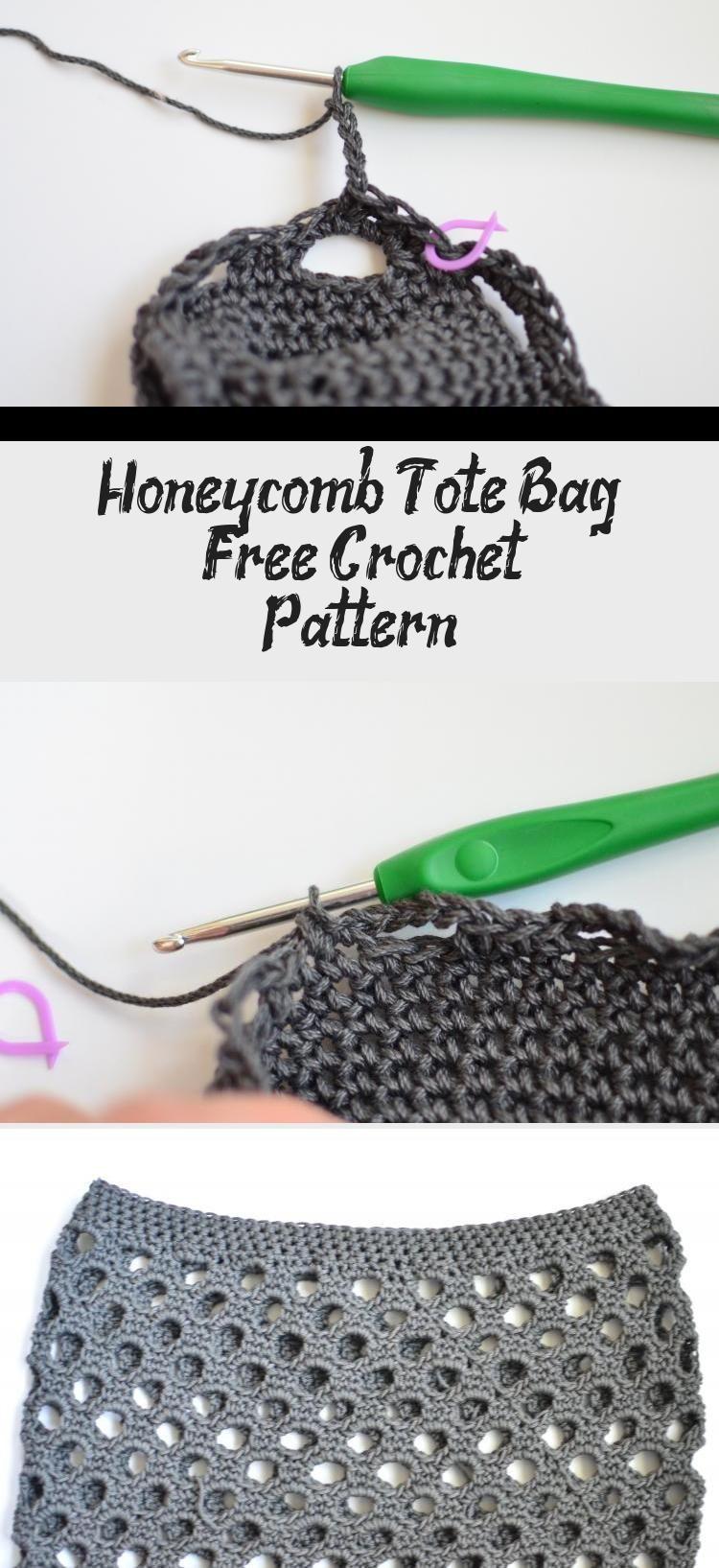 Honeycomb Tote Bag  Free Crochet Pattern  crochetthat Honeycomb Tote Bag  Free Crochet Pattern  crochetthat