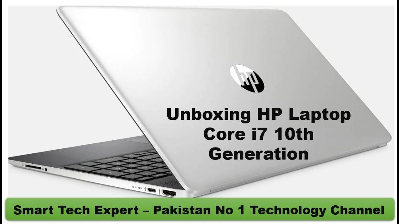 Unboxing Review Specifications Of Hp Laptop Core I7 10th Generation 15 D In 2020 Hp Laptop Core I7 Laptop