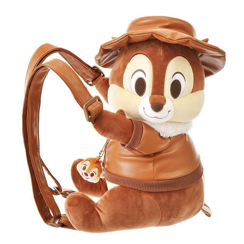 Cute Big Cartoon Squirrel Plush Backpack Anime Soft Stuffed Animals Dolls Toys bags for children School bag Girls Gifts 35cm