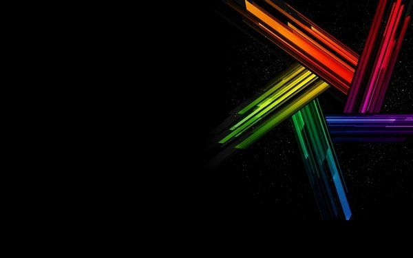 Rainbow Star Desktop Background Background Hd Wallpaper Rainbow