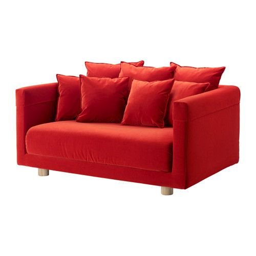 IKEA STOCKHOLM 2017 Two Seat Sofa Sandbacka Orange Velvet Is A Soft,  Luxurious Fabric That Is Resistant To Abrasion And Easy To Clean Using The  Soft.
