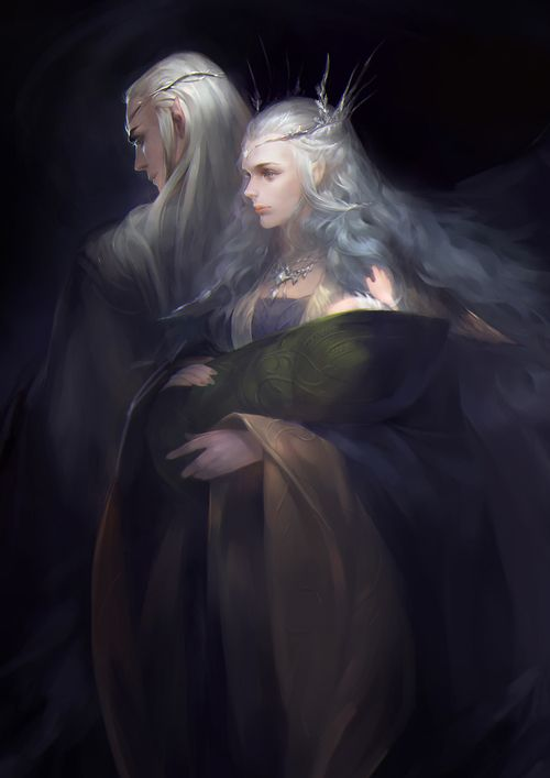 thranduil's wife | via Tumblr