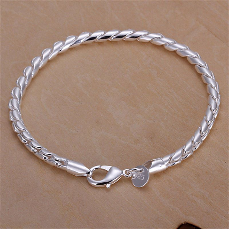 Ladies Girls Fashion Costume Jewelry Silver Plated Gold Bracelet Bangle Charm