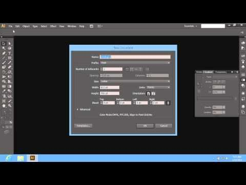 how to change background color in adobe illustrator cs6 youtube