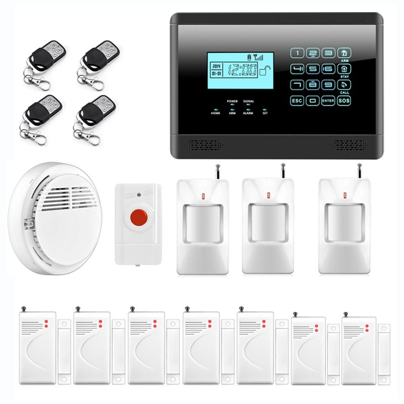 Emergency Panic Alarm, Wireless GSM SMS Home Security Alarm System ...