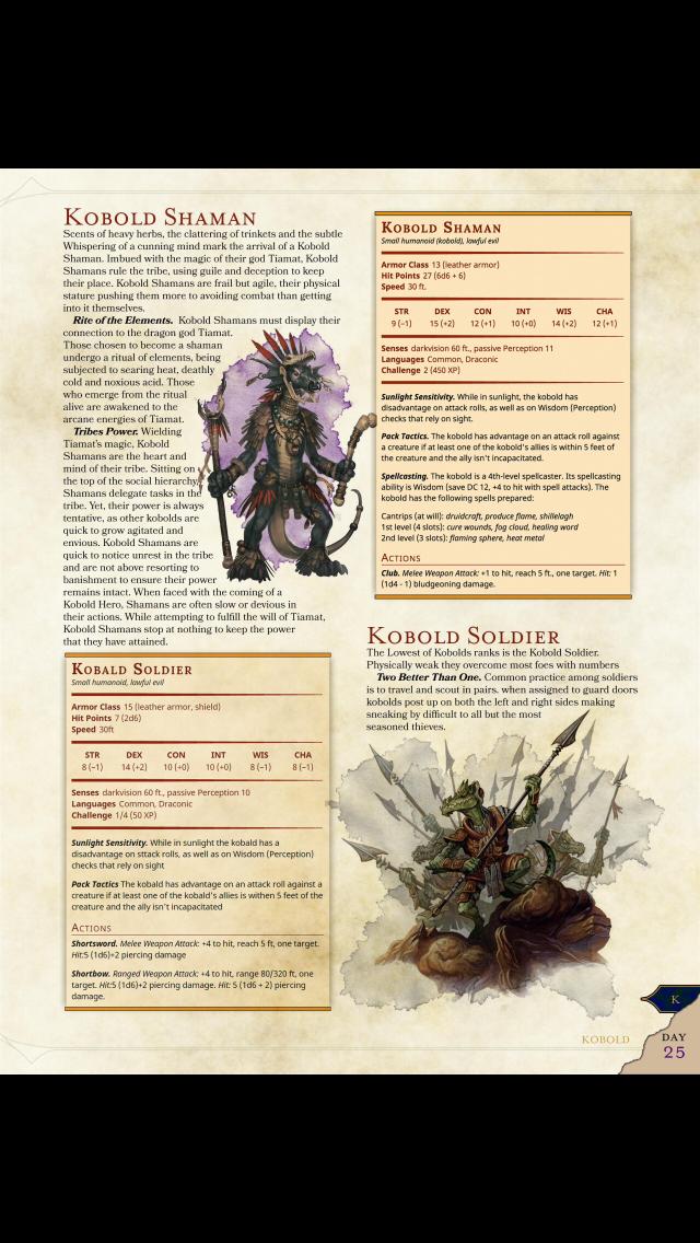 New Kobold types: Shaman (CR 2) & Soldier (CR 1/4) – DnD 5e homebrew
