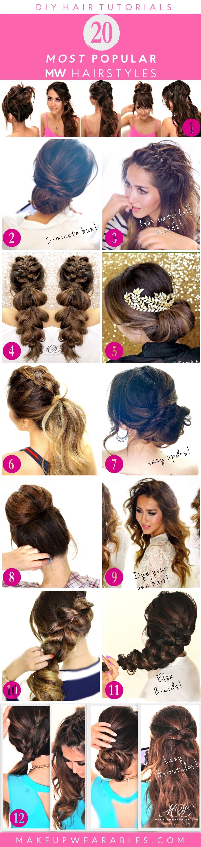 most popular hairstyles of easy hairstyles hair