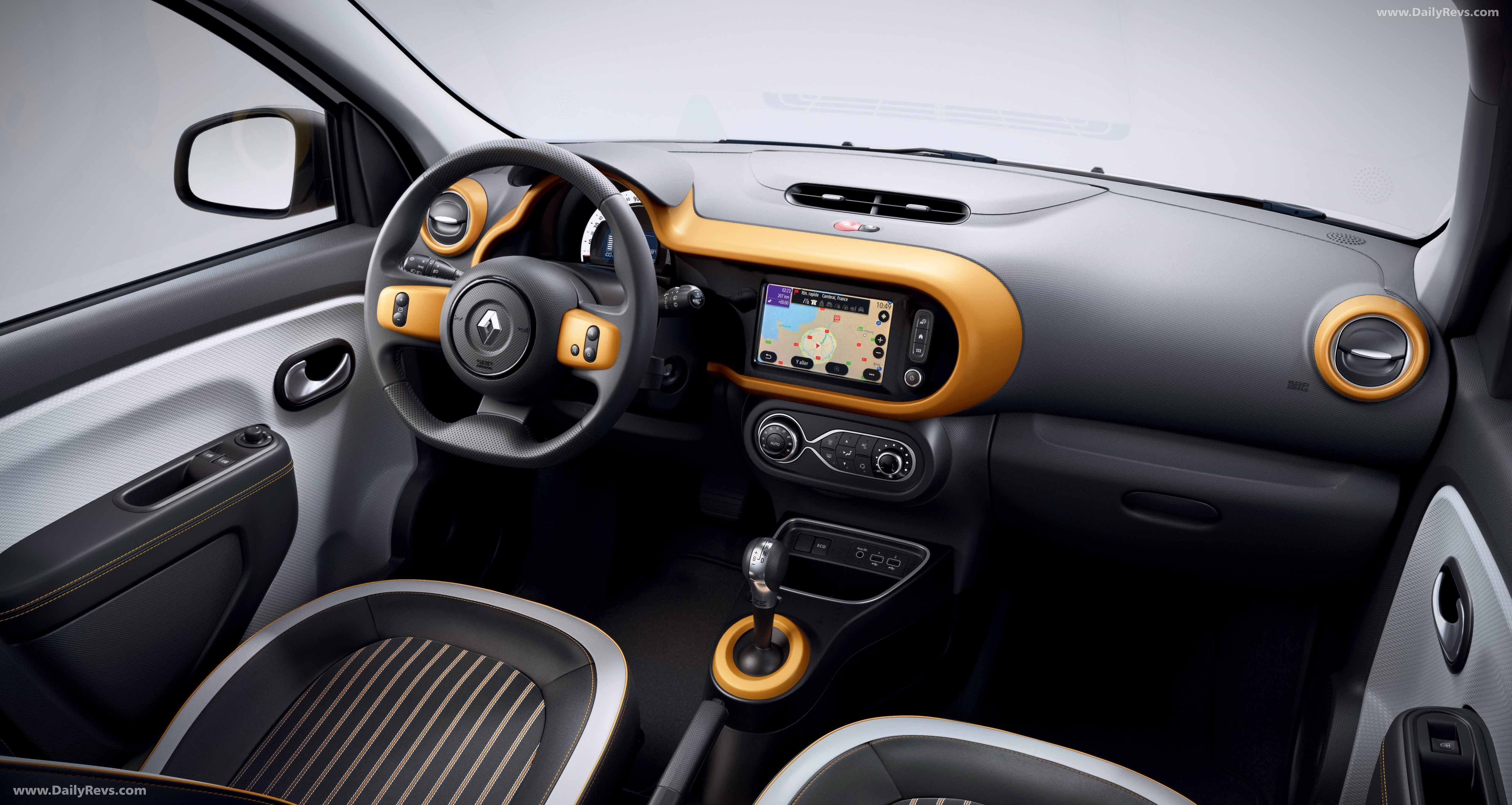 2020 Renault Twingo Z E Dailyrevs In 2020 Steering Wheel Gear