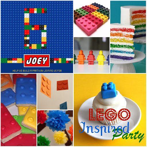 Lego Party Lego Pinterest