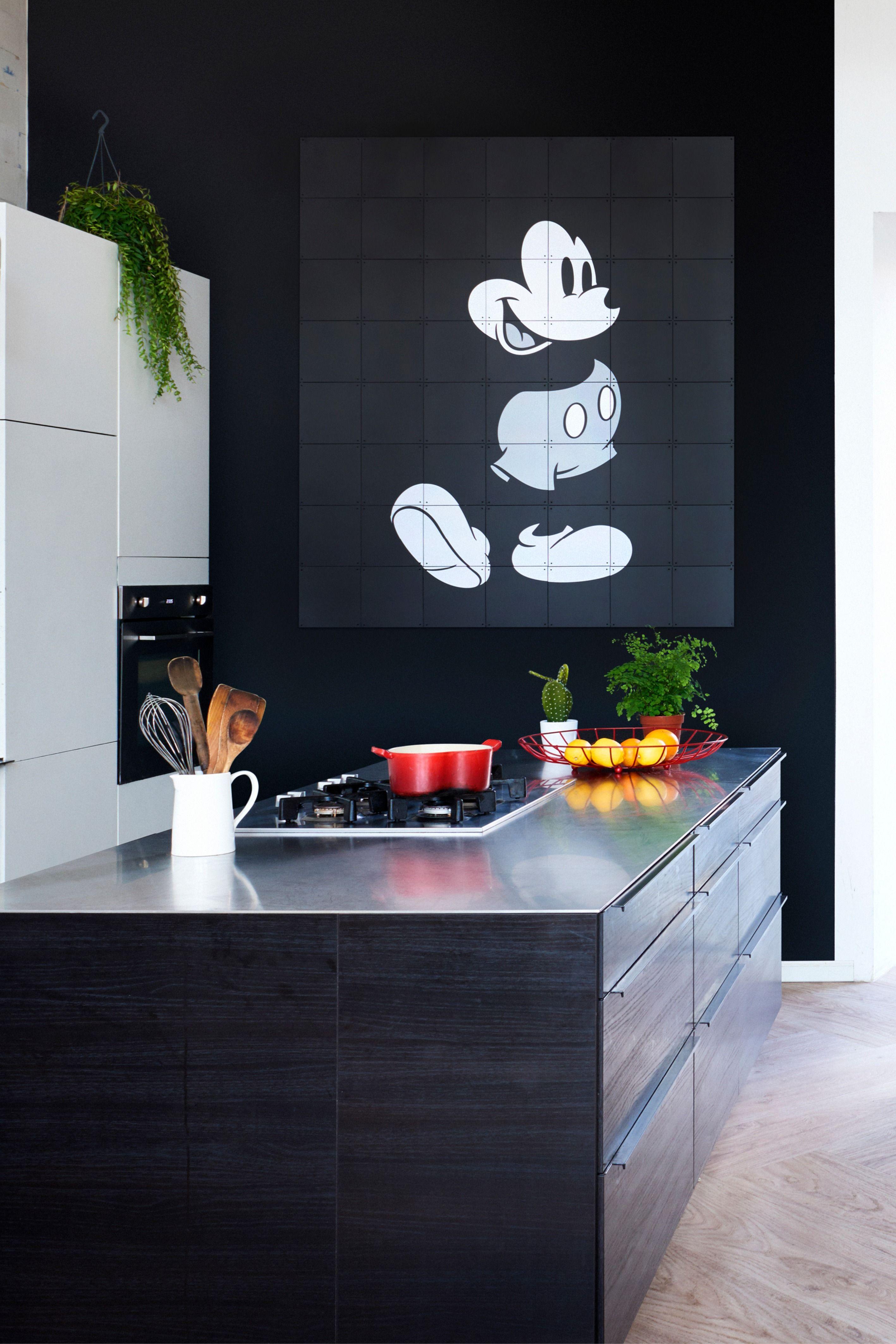 IXXI Micky Maus (SchwarzWeiß), 80 x 100 cm in 2020