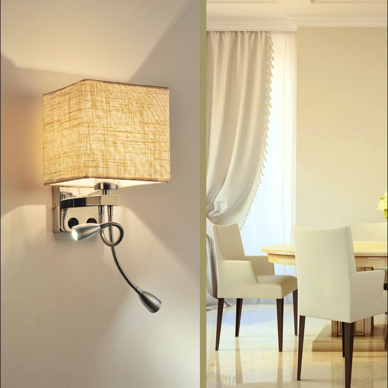 wall sconces art deco industrial wall sconce switch LED Up Down wall ...