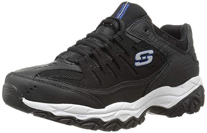 skechers men's afterburn memory foam fashion sneaker