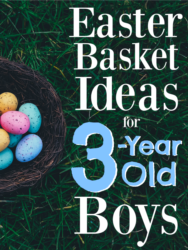 The best easter basket ideas for 3 year old boys basket ideas easter negle Images