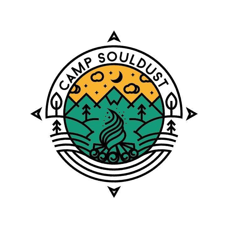 Educational camp logo design #glamping #glamping #design