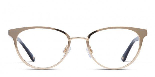 258f655edc Muse X Hilary Duff Helen Gold w Black Prescription Eyeglasses