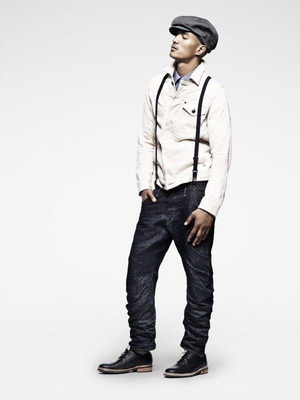100% äkta bästa webbplats köpa bäst Mesnwear Denim Spring-Summer 2012 lookbook by G-Star | Revival ...