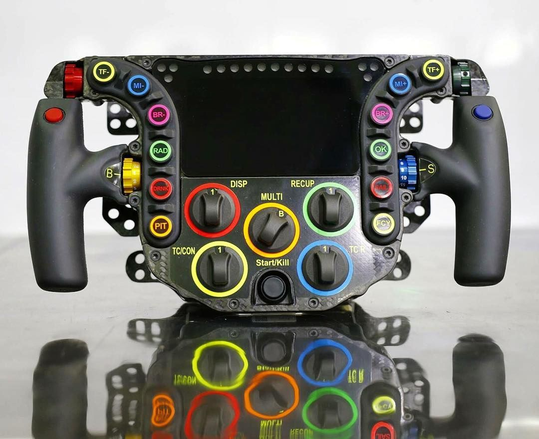 24 Buttons 6 Paddles Porsche 919 Hybrid S Steering Wheel At A