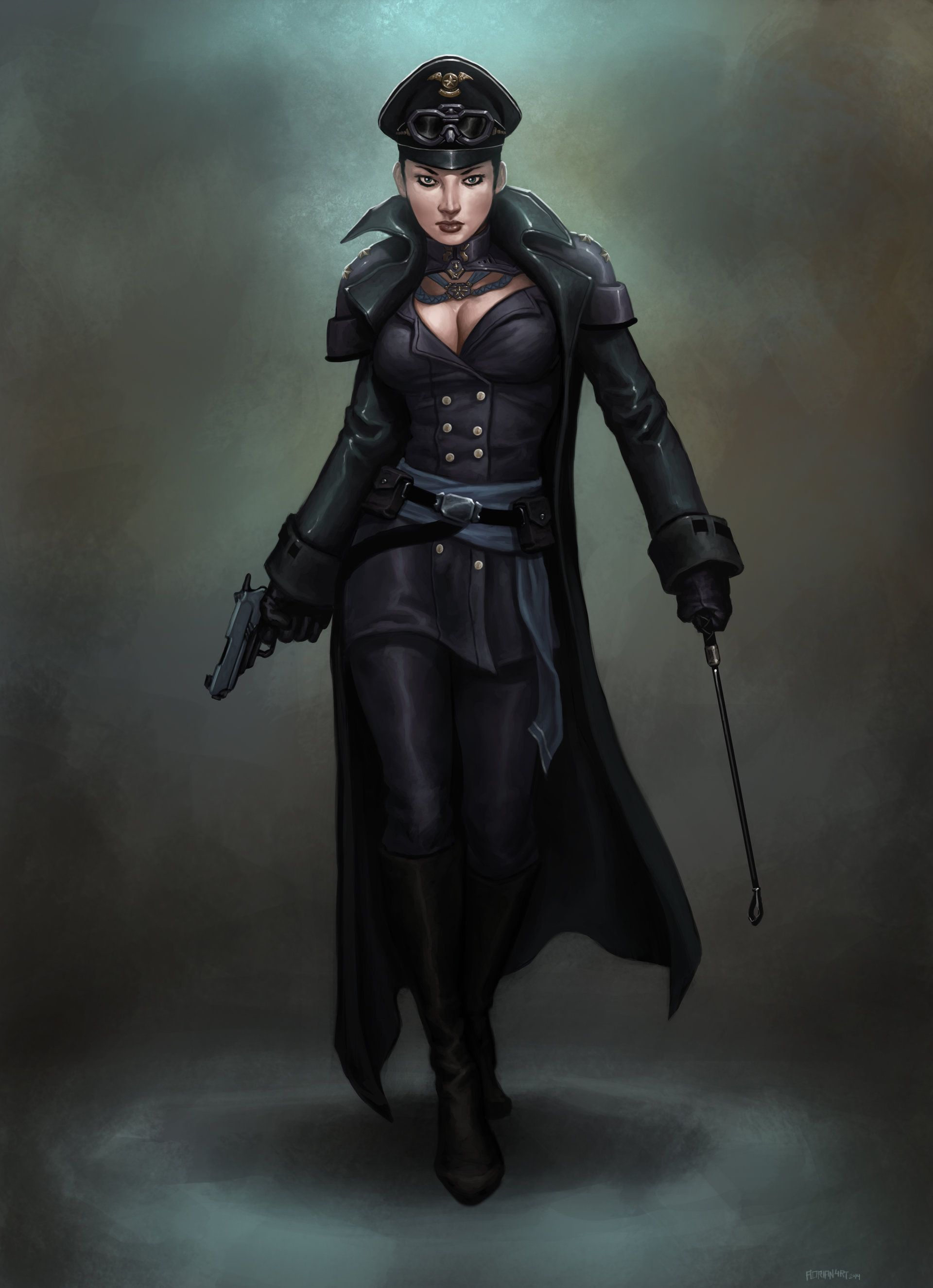 Pin On Characters Dieselpunk