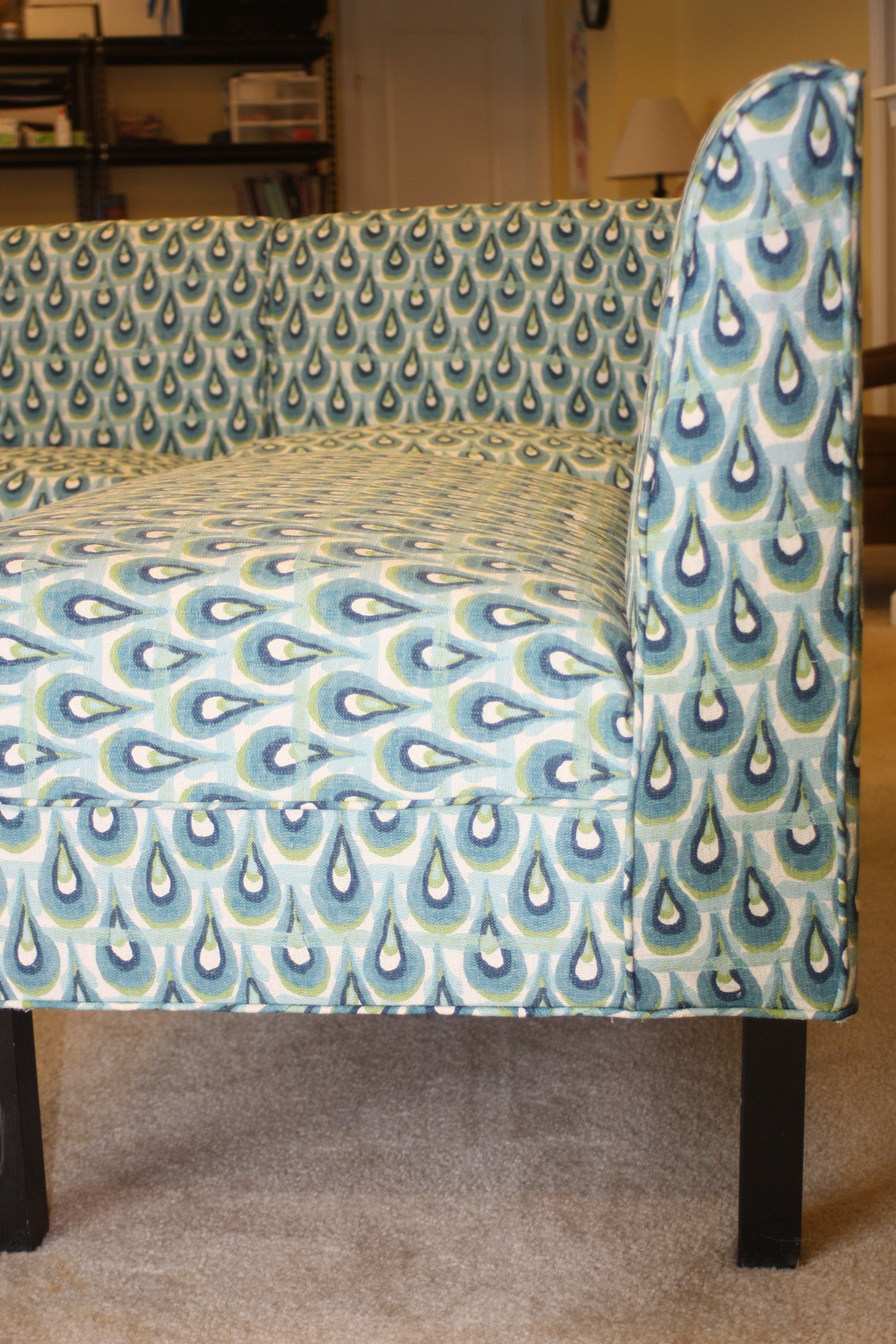 Ballard Designs Coventry Bench Set Slipcover By Twill Studio