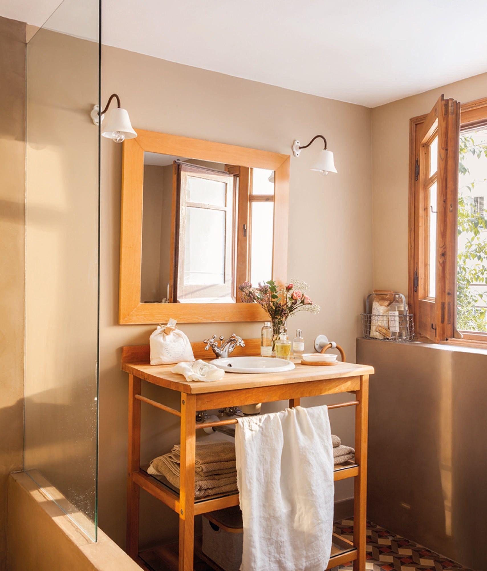 En el baño | Diseño de baños chicos, Lamparas para baño ...
