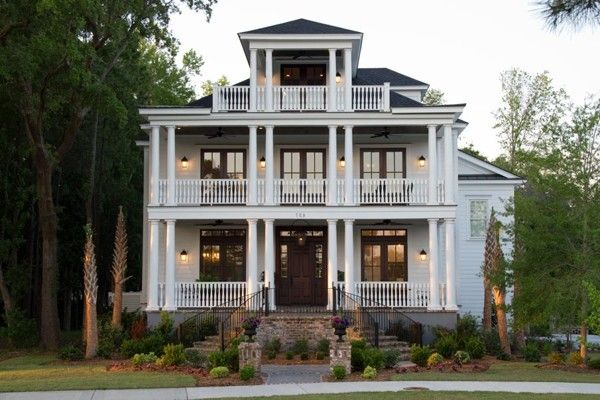 Charleston Style House Plans With Side Porch | Bee Home Plan ...