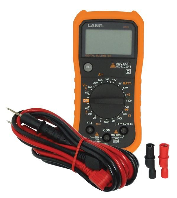 Lang Tools 13809 Cat Iii Digital Multi Meter Products