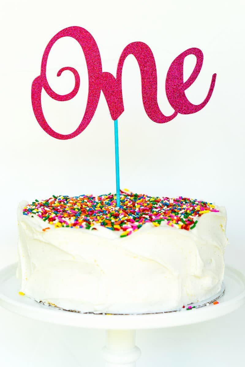 30 Birthday Cake topper Printable in 2020 Birthday cake