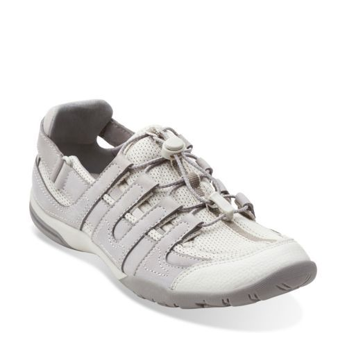 Vailee Frost Light Grey Nubuck - Womens Shoes - Womens Active Shoes - Clarks®  Shoes