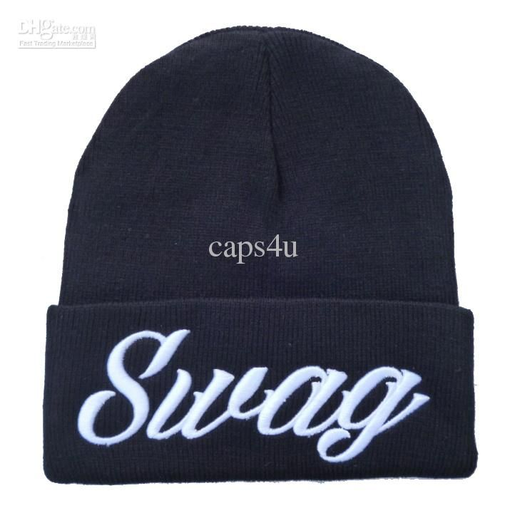 Black Swag Mens Beanies Hats Sports Beanies Women Knitting Caps Football  Beanies Beard Beanie Beanie Kids From Caps4u c38fd91e9a77