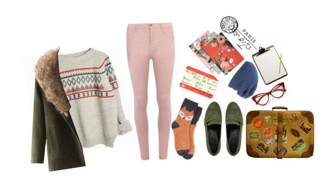 """""""Wes Anderson"""" by avengers-loki ❤ liked on Polyvore featuring JVL, Dorothy Perkins, Target, ASOS, RIFLE, Phase 3 and Tim Holtz"""