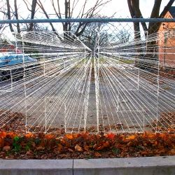 Canadian artist Sean Martindale created this interesting outdoor