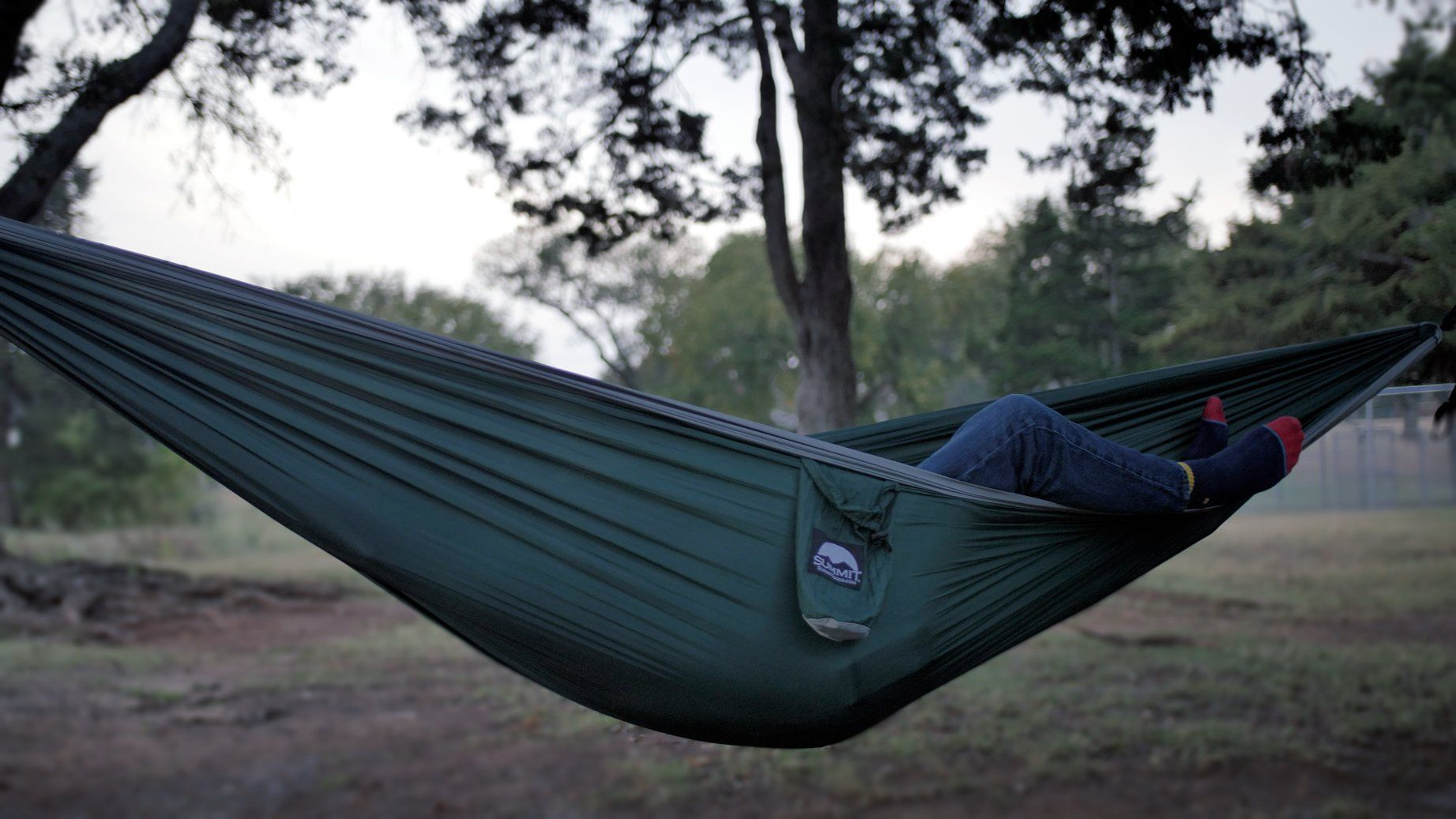 Summit Goods DoubleNest Camping Hammock with STRAPS INCLUDED