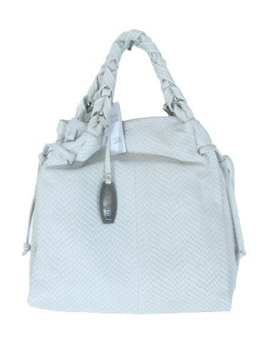 Nicoli Stone Designer Italian Leather Handbag Purse Tote Bag