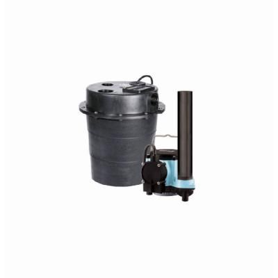 Little Giant Wrs 6 Drainosaur 0 3 Hp Water Removal Pump System