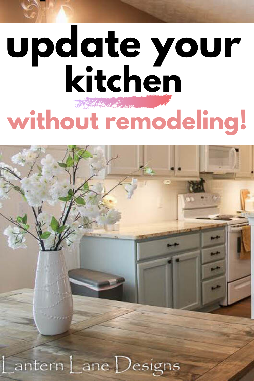 how to remodel your builder grade kitchen on a budget on fast and easy ways to refresh your home on a budget id=89819