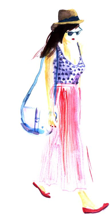 dots, fashion illustration, metamundus