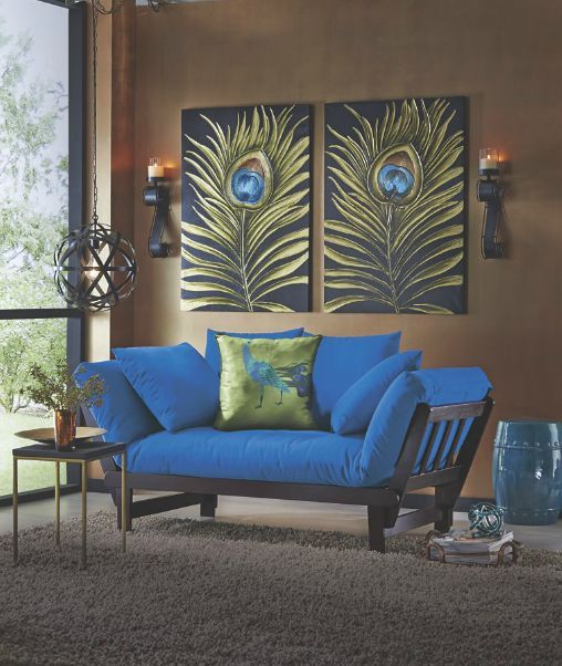Bold Contemporary Styles For Your Home Take A Look At Our Special Collection Decor Apartment Decorating Livingroom Peacock Decor