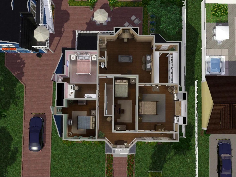 My Sims 3 Blog Bree Van De Kamp House By Wisteriabrayan Bree Van De Kamp Van De Kamp Desperate Housewives House
