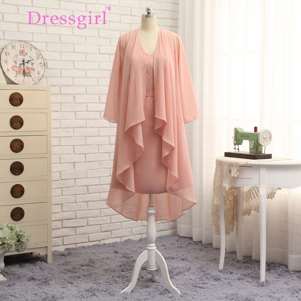 Click to buy ucuc dressgirl coral mother of the bride dresses