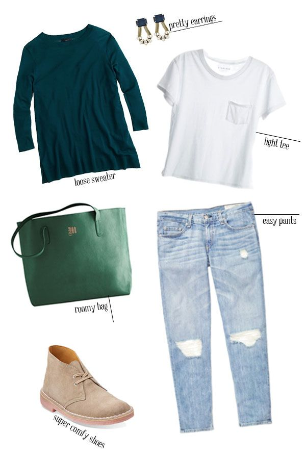 eaea21a594 What to Wear: College Visits | Just Fashion | College outfits, Fall ...