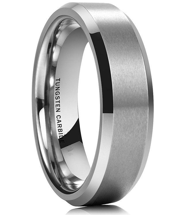 Style 10133 Rasoret 7mm Tungsten Carbide Ring Unique Diamond Wedding Rings Mens Wedding Rings Tungsten Mens Rings