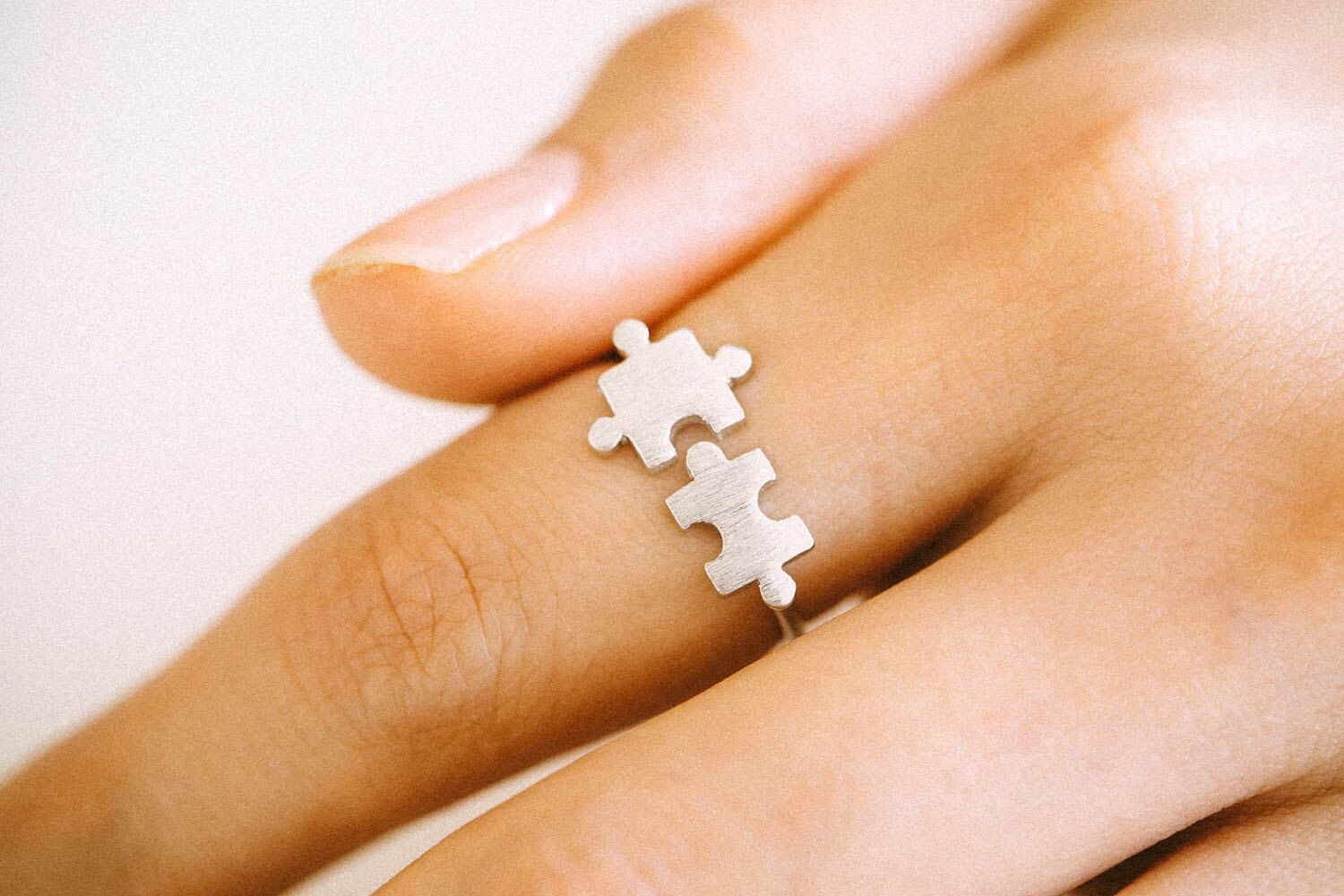 925 sterling Puzzle Ring,Silver ring,adjustable ring,free size ring,memory ring,puzzle pieces,Jigsaw Puzzle ring,men ring,women ring,ABC214 by comejew on Etsy https://www.etsy.com/listing/227654816/925-sterling-puzzle-ringsilver