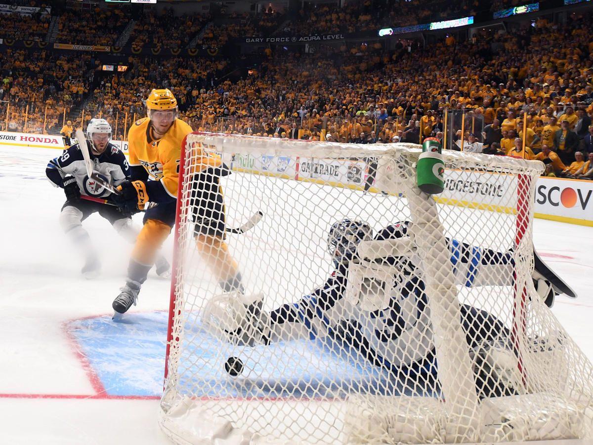 Nashville Predators defeat Winnipeg Jets 54 in Double