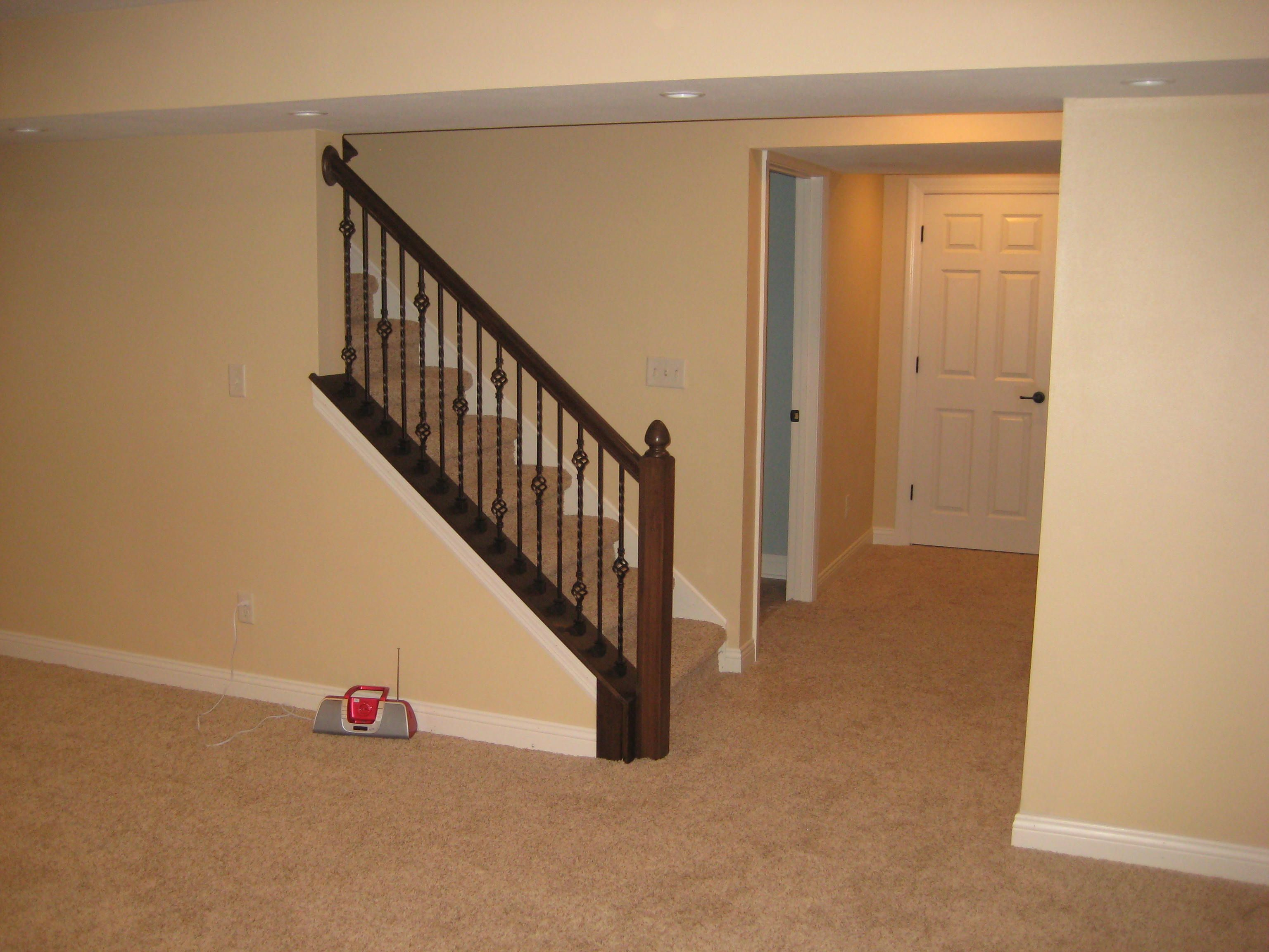 basement stairs   For the Home   Pinterest